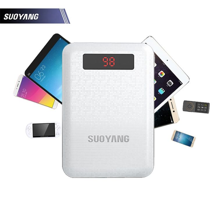 SUOYANG Power Bank 10000mAh Universial Dual USB Port Output Fast Charger With LED lighting Phones Battery for iPhone 6 6s 6 plus #>=#>=#>=#>=#> Click on the pin to check out discount price, color, size, shipping, etc. Save and like it!