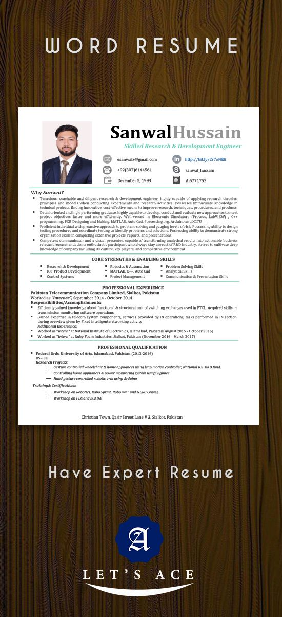 Bunch of attractive and good-looking resume designs in Word format