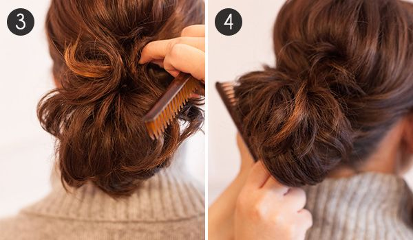 Give short hair a boost and make it look fuller with this quick and easy ponytail tutorial for short-haired gals.