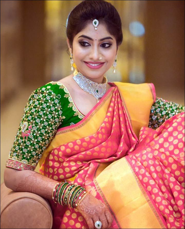 22 Trending Cutie Pie Bridal Blouse Designs For Your Dream Wedding Indian BridalSouth BrideBridal Sarees