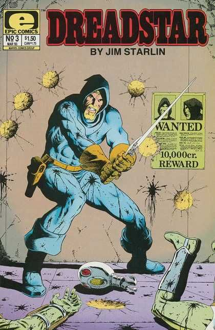 Dreadstar by Jim Starlin - Marvel needs to find a way to incorporate this character into Guardians of the Galaxy ... °°Epic Comics