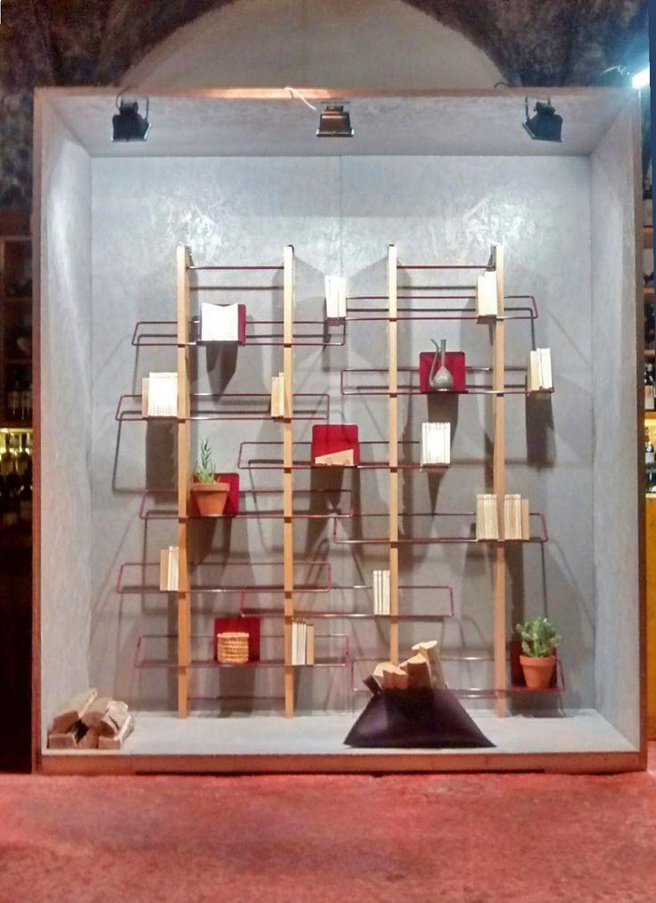 Grapevine wall bookshelves and Juice basket