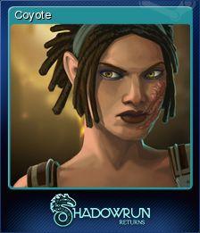 Cromo de Steam «Coyote» de Shadowrun Returns