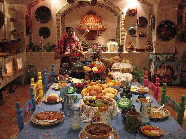 Cocina Tradicional Mexicana, regularmente en provincia y haciendas.....