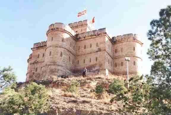El Castillo del Bailío de Caspe, o castillo del Compromiso,