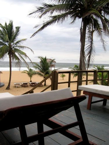 Relaxing by the Beach, Ishahayi Beach, Ojo Island, Lagos, Nigeria