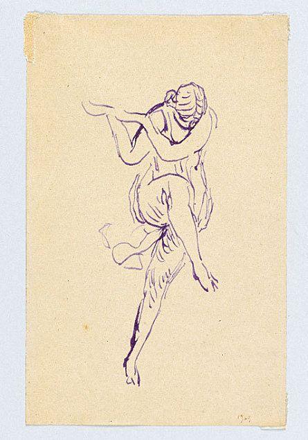 présentation de l'exposition sur Isadora Duncan au musée Bourdelle