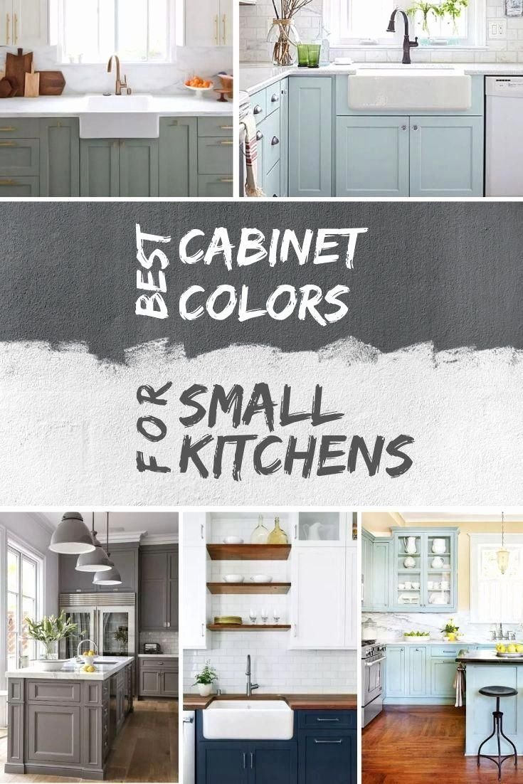 Best Colors For A Small Kitchen In 2020 Kitchen Design Small Kitchen Remodel Small Kitchen Cabinet Colors