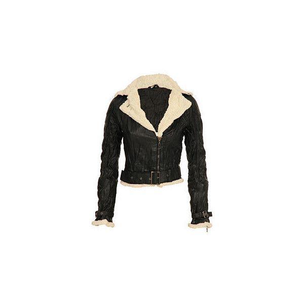 Abandon Gisele Fur Aviator Jacket   Abandon Jackets @ USC (46.835 CLP) ❤ liked on Polyvore featuring outerwear, jackets, jakne, aviator jacket, fur aviator jacket and fur jacket