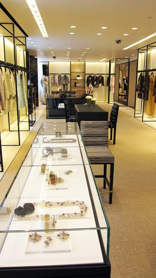 Chanel boutiques