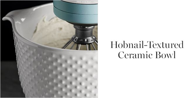 Hobnail Textured Ceramic Bowl For Any Vintage Collector This