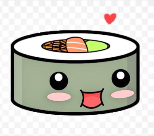 KAWAII! Sushi muokkaus: fotor