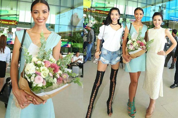 Flora Coquerel Miss Universe France 2015 Exploring Vietnam