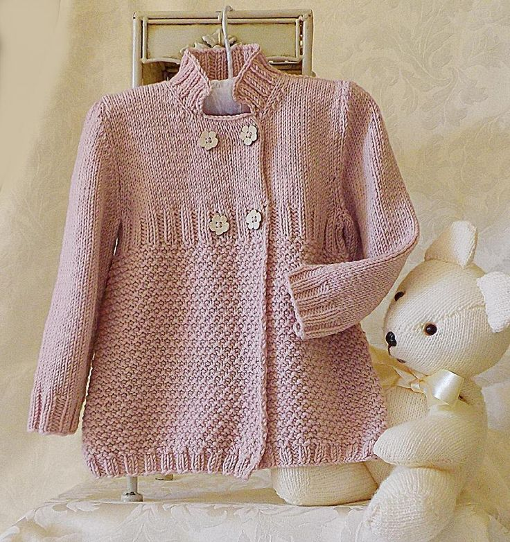 Little girls three quarter length double breasted coat/jacket