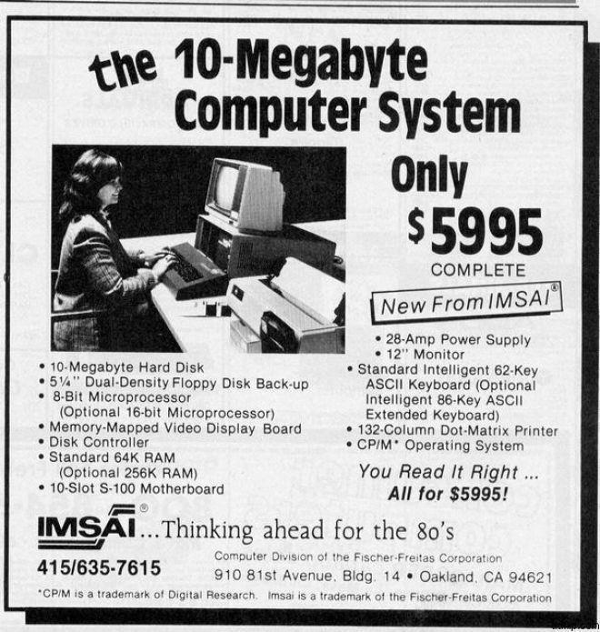 10 Megabyte for $5995 what a bargain!