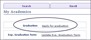 How to Apply for Graduation | In order to graduate in a specific semester, you must apply for graduation within the application deadline period. It is recommended that you apply for graduation no later than the beginning of the semester in which you plan to complete all program requirements. Waiting to receive end of term comprehensive exams, thesis or final project results, before you apply for graduation, would result in a delay in your graduation date.