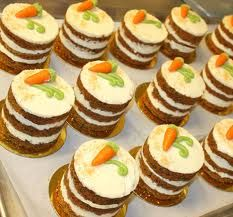 mini carrot cakes - Google Search