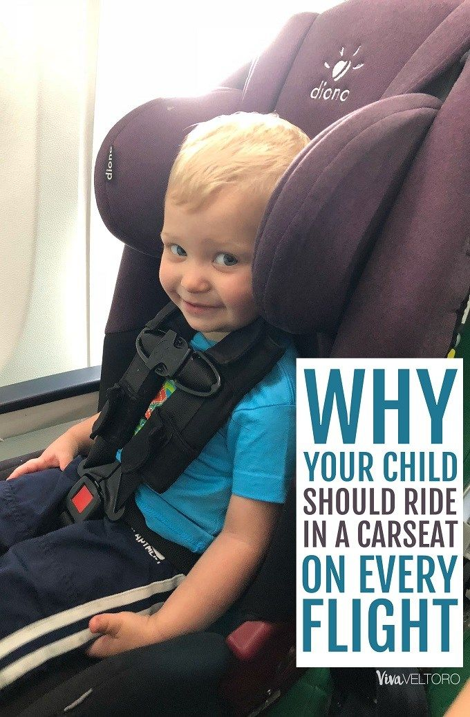 The Safest Place For Any Child Is In A Car Seat While Riding On An