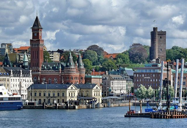Helsingborg - the town in Sweden where I was a Rotary Exchange student in 1975-76