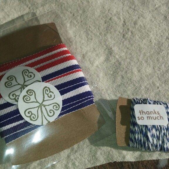 Ribbon has arrived! With extra bonus ribbon!