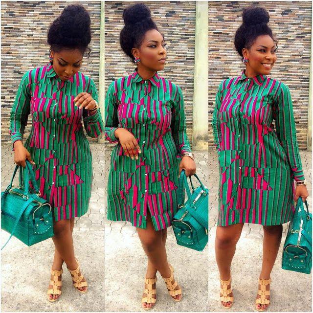 http://www.dezangozone.com/2016/04/creative-ankara-gown-design_20.html  ~African fashion, Ankara, kitenge, African women dresses, African prints, Braids, Nigerian wedding, Ghanaian fashion, African wedding ~DKK