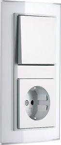 Gira Event Klar weiß System 55 reinweiß glänzend Schalter Steckdose etc. Auswahl