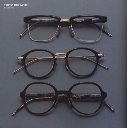 Thom Browne Optical Glasses, love the square wayfarer