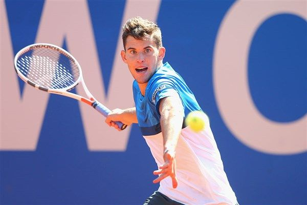 No. 3 seed Dominic Thiem is one win away from another title in Munich, but Philipp Kohlschreiber is dangerous: Thiem vs Kohlschreiber ATP tennis live
