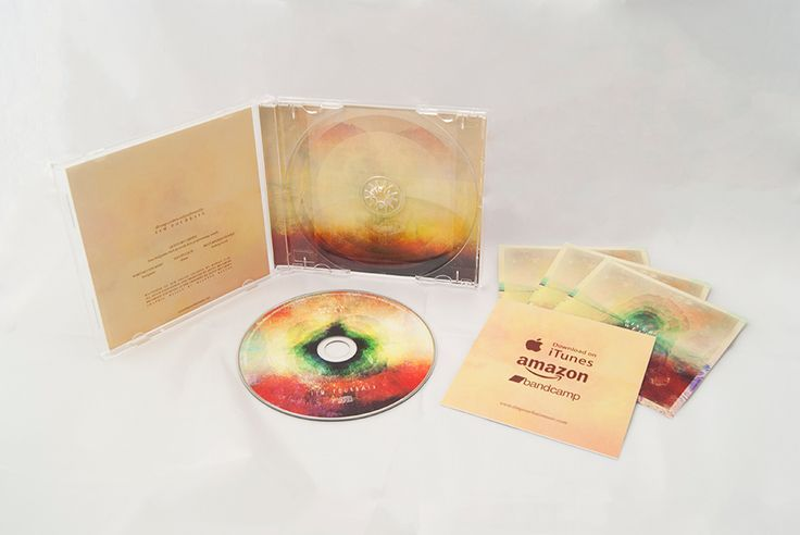 River Well cd packaging design