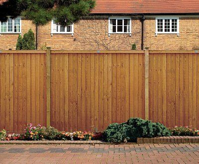 Closeboard Wooden Fence Panel