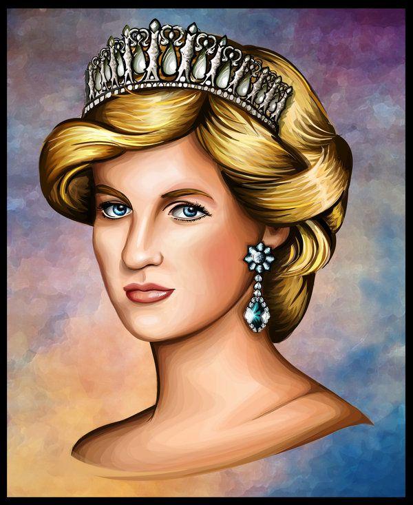 Princess Diana by Artist-in-Despair.deviantart.com on @deviantART