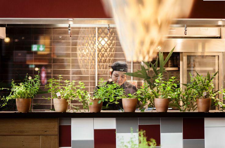 coa asian food & bar. authentic asian food. Frankfurt Airport, Terminal 1. www.coa.as