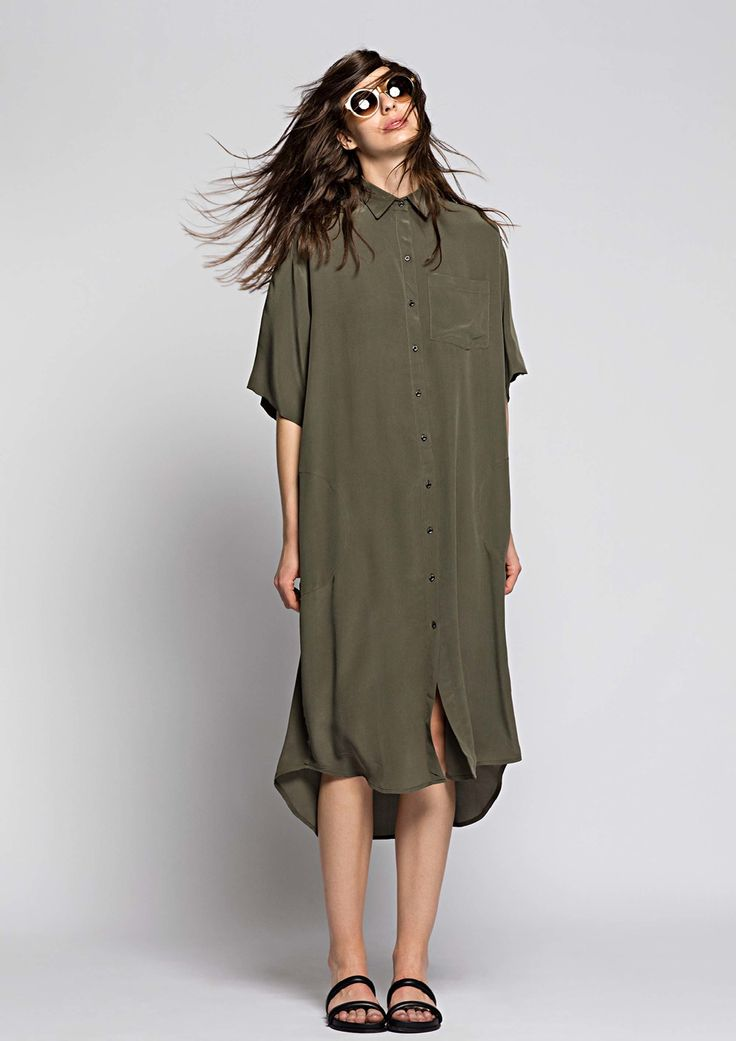 Osklen shirt dress!