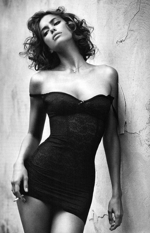 The thinspirational irina shayk