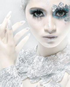 ice queen makeup tumblr ice winter pinterest schneek nigin kost m und fabelwesen. Black Bedroom Furniture Sets. Home Design Ideas