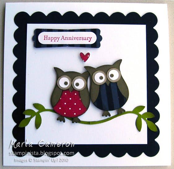 Card Making Ideas Owls Part - 27: Image Detail For -Stampinu0027 Up! Ideas, News At DEBZHOUSE: Rudolf Reindeer.  Owl Punch CardsOwl ...