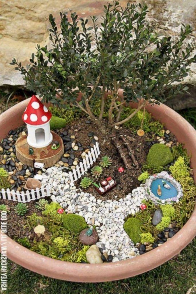 30 Super Simple Diy Fairy Garden Ideas Page 11 Of 38 Fairy Garden Diy Fairy Garden Crafts Fairy Garden Designs