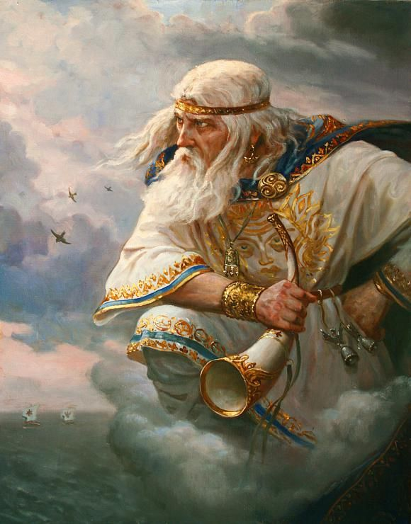 """Stribog ( In the East Slavic mythology, the god of the wind. In the East Slavic mythology, the deity of ancient pantheon, the idol which was established in Kiev in 980. The name Stribog dates back to the ancient roots """"Strega"""" which means """"elder"""", """"paternal uncle"""". In the """"Lay"""" the winds are named Stribozhimi grandchildren that arrows are blowing from the sea, which seems to indicate the atmospheric features Stribog.)"""