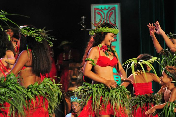 Lifeislove Tahiti  Red and green