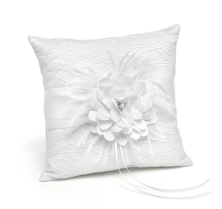 Modern ring bearer pillow