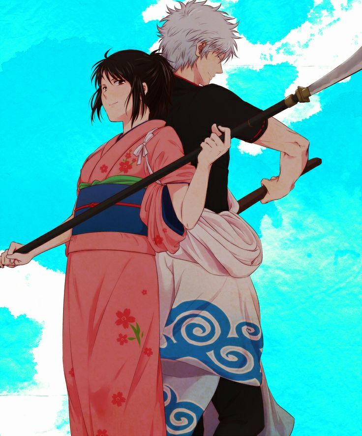 gintama gintoki and otae - photo #1
