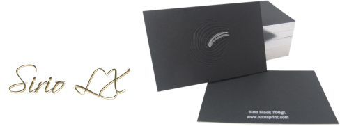 Business card Sirio LX