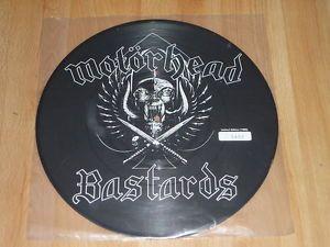 MOTORHEAD - Bastards - PICTURE DISC VINYL LP - LTD EDITION 450/1000