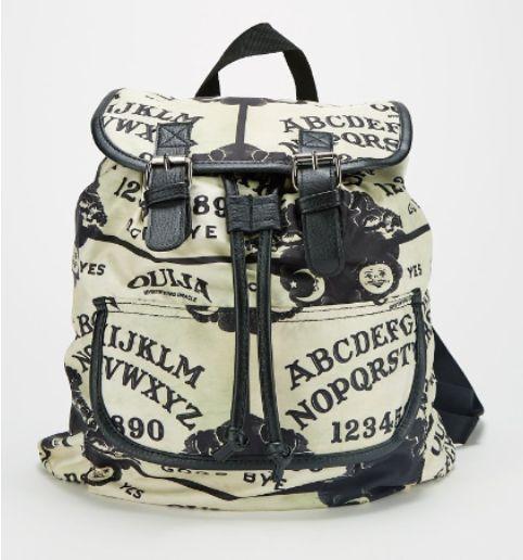 "Ouija Board "" Mystifying Oracle "" Slouch Buckle Bookbag cinch napsack Backpack   Clothing, Shoes & Accessories, Women's Handbags & Bags, Backpacks & Bookbags   eBay!"