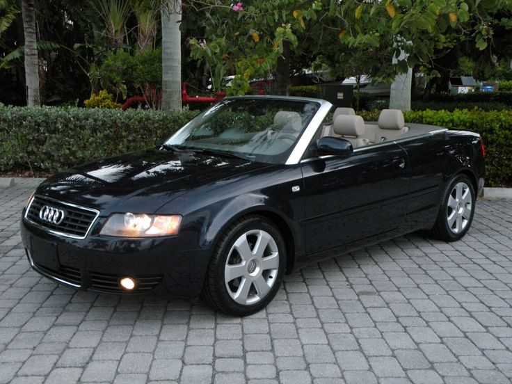 2004 Audi A4 1 8t Convertible For Sale Auto Haus Of Fort