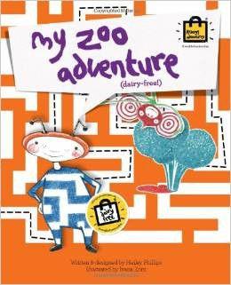 My Zoo Adventure - Dairy free story book