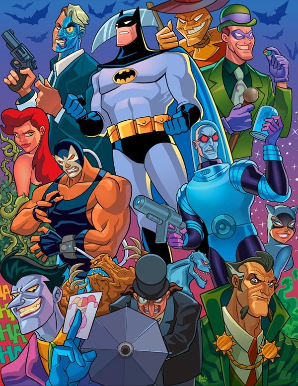 Batman Viloes Batman Comics Batman The Animated Series Dc