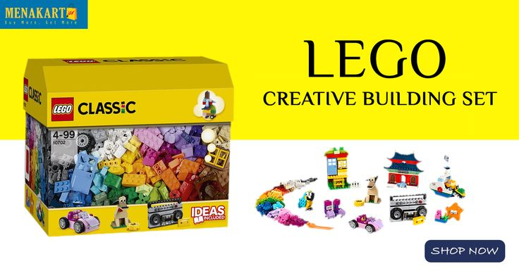 LEGO creative building set with over 500 pieces online #LEGO #Online #Shopping #creative #buildingsets #Menakart