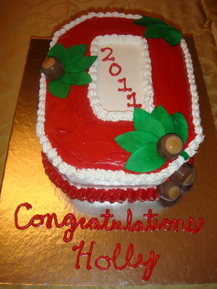 ohio state graduation cakes