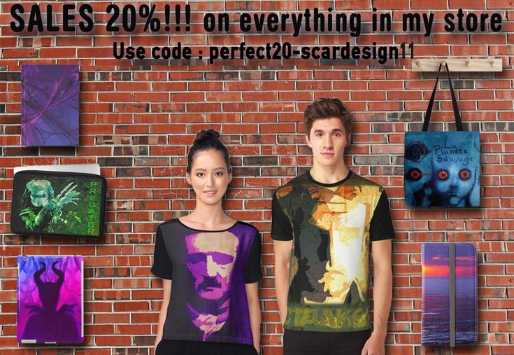 SALES 20% on everything at my store , Use code : scardesign11 and get your discount. Offer expires Monday 14 November. #sales #sales20% #discount scardesign #products #redbubble #giftsforher #gifts #giftsforteens #womengifts #giftsforhim #buymovieposteridsroom #kidsgifts #scifigifts#throwpillow #homedecor #plaidhomedecor #buyhomegifts #homegifts #livingroom #totebag #skirt #women #fashion #journals #notebooks #scarves #scarf #tablet #tshirt #graphictshirt #clothing #wallart #tapestry